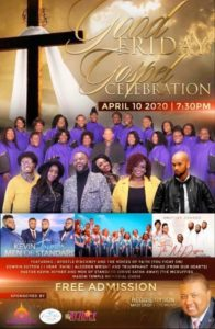 Apostle James Pinckney and the Voices of Faith will be minstering in song at the Good Friday Gospel Celebration @ Mason Temple Church of God in Christ